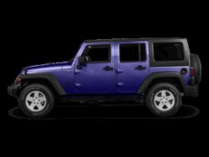 2018 Jeep Wrangler 4-Door Sideview