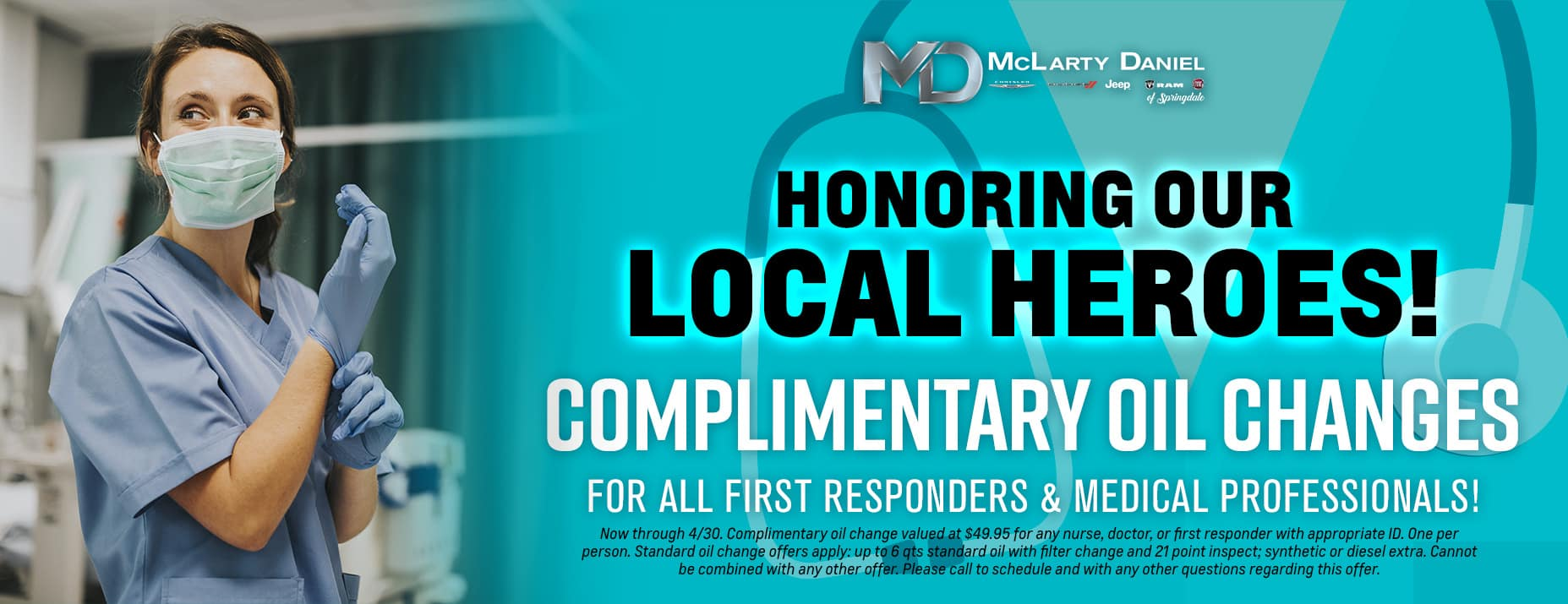 HONORING OUR LOCAL HEROES - Nurses, Paramedics, Doctors, and First Responders