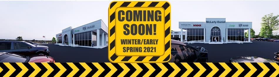 Coming Soon Winter/ Early Spring 2021