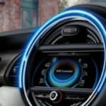 MINI Cooper dash view