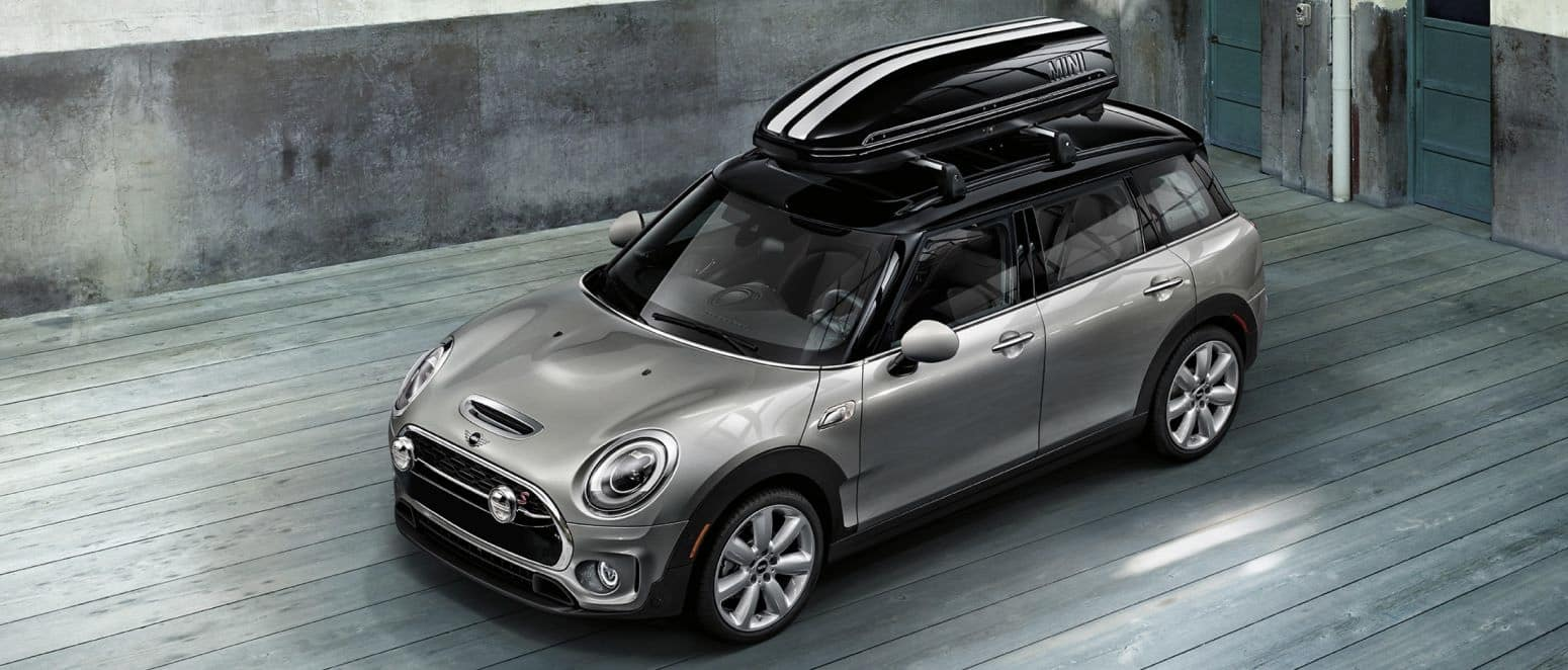 MINI Clubman with storage on top