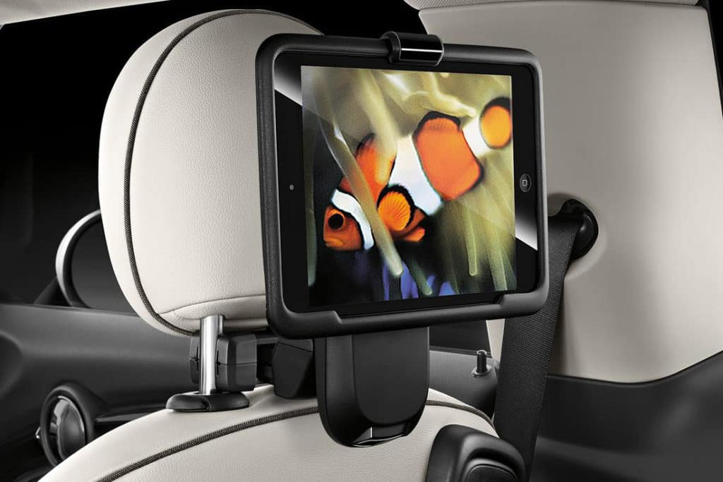 MINI cooper clubman accessory tablet holder