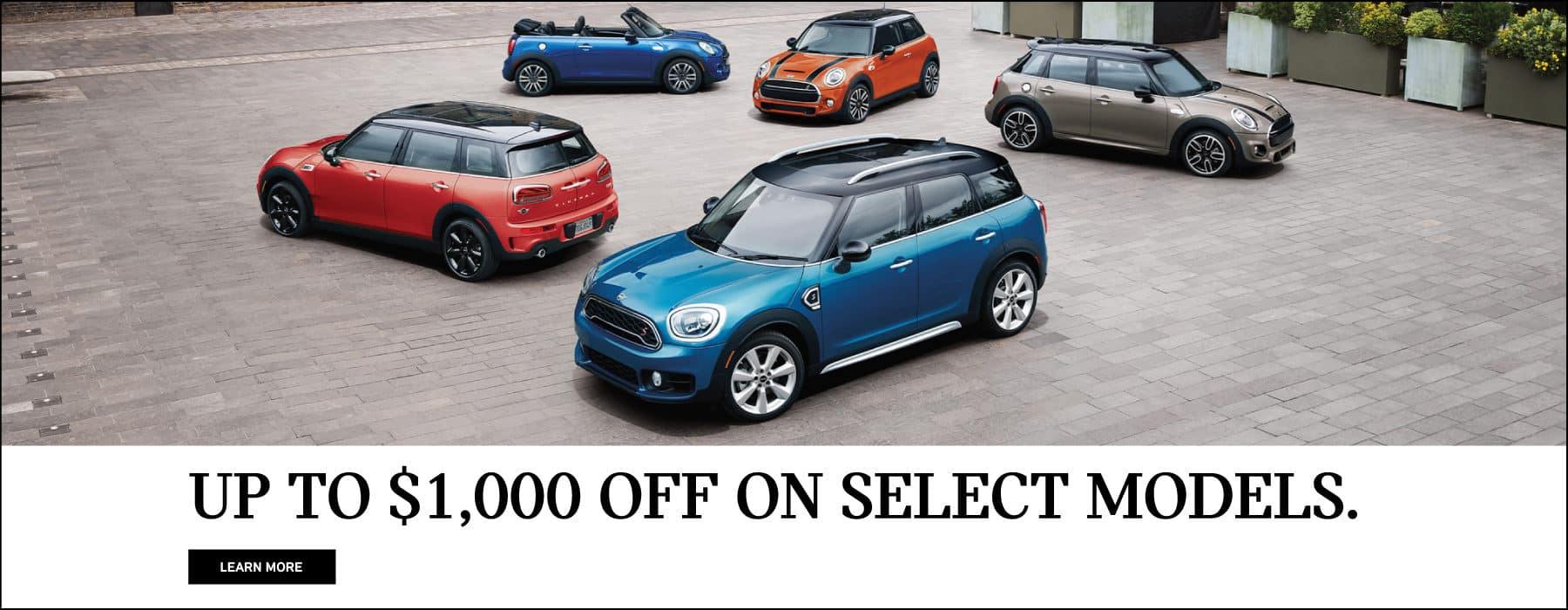 Up to $1,000 off on select models