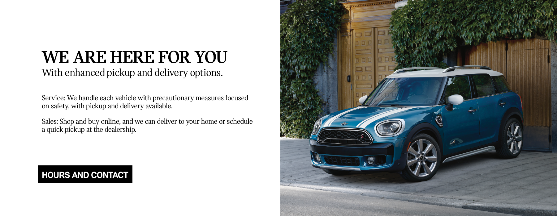 MINI Service and Sales Revised