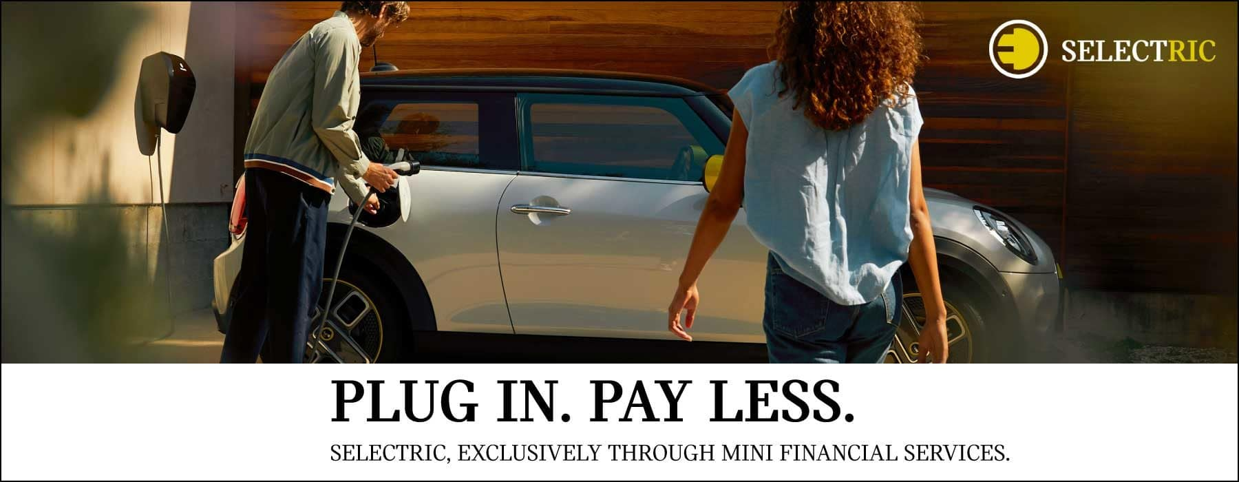Plug In. Pay Less. Selectric