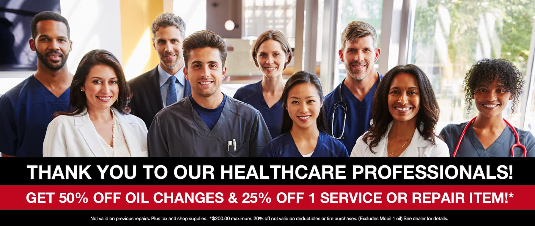 Healthcare Professionals service offer