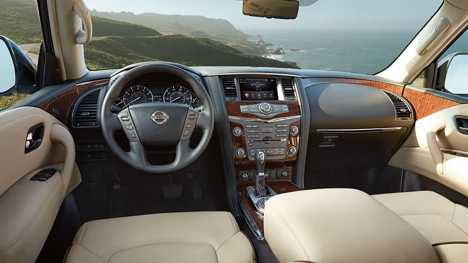 Interior Features of the New Nissan Armada at Garber in Bradenton, FL