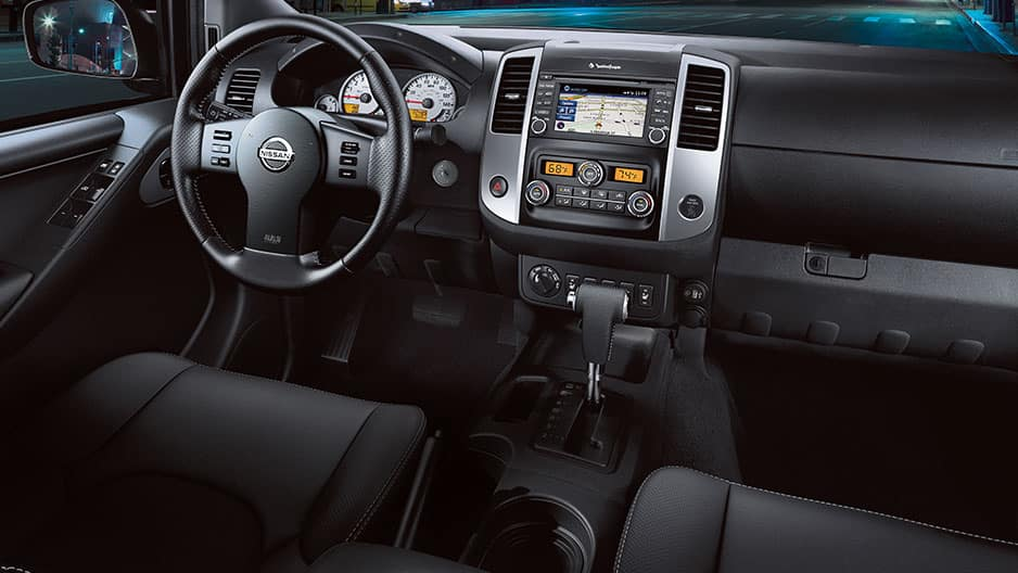 Interior Features of the New Nissan Frontier at Garber in Bradenton, FL