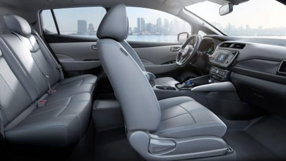 Interior Features of the New Nissan Leaf at Garber in Bradenton, FL