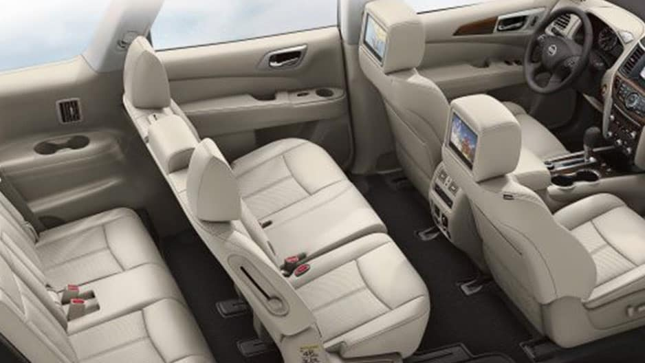 Interior Features of the New Nissan Pathfinder at Garber in Bradenton, FL