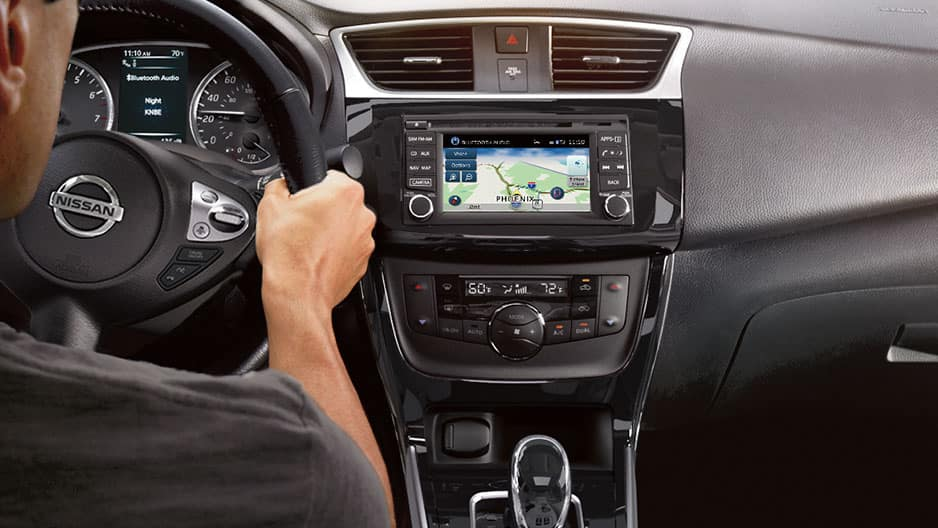 Technology Features of the New Nissan Sentra at Garber in Sarasota, FL