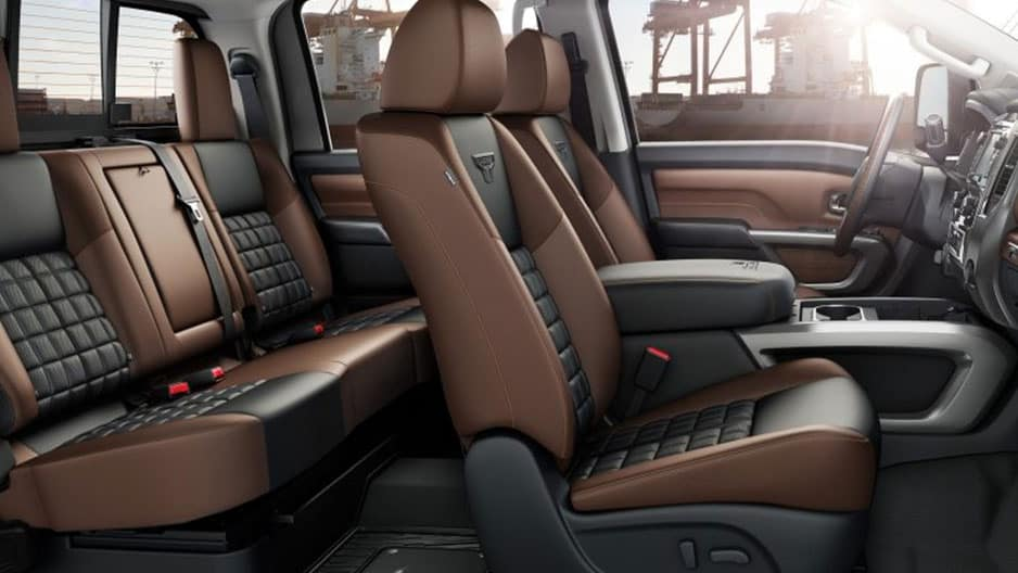 Interior Features of the New Nissan Titan at Garber in Bradenton, FL