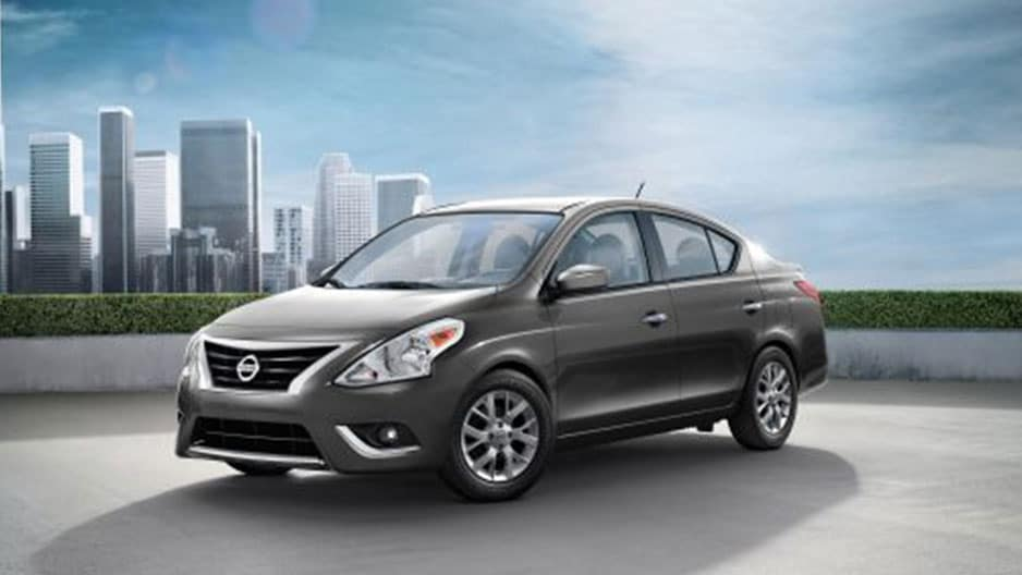 Exterior Features of the New Nissan Versa Sedan at Garber in Bradenton, FL