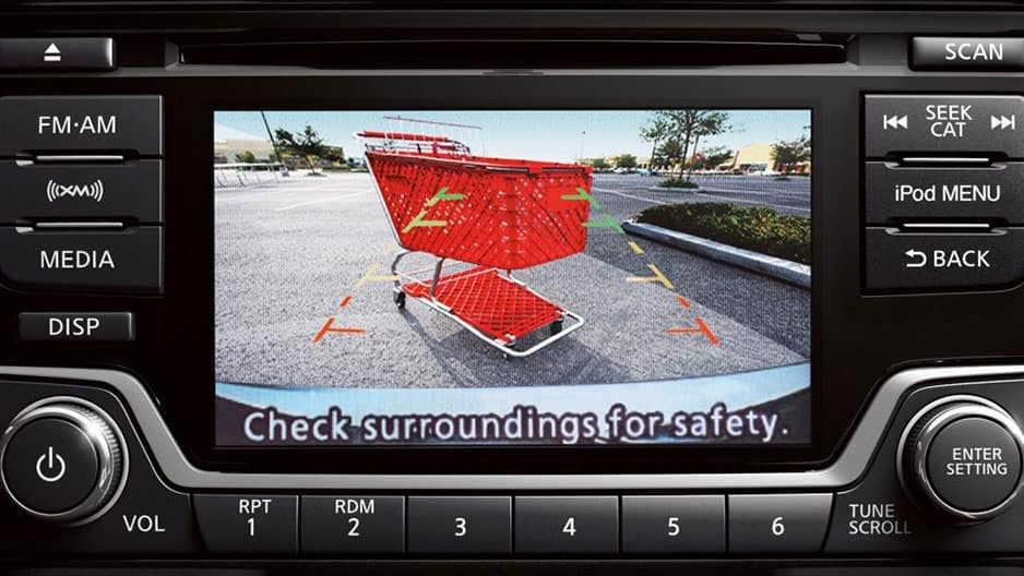 Safety Features of the New Nissan Versa Sedan at Garber in Sarasota, FL
