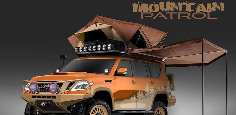 Nissan Armada ìMountain Patrolî project vehicle build underw