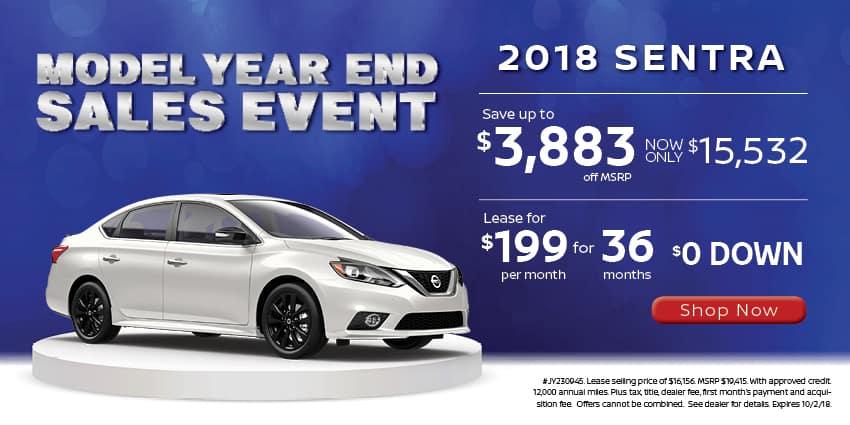 Model-Year-End-Nissan-Sentra