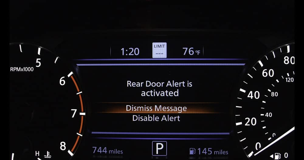 Rear Seat Alerts Coming to 8 Nissan Vehicles in 2019