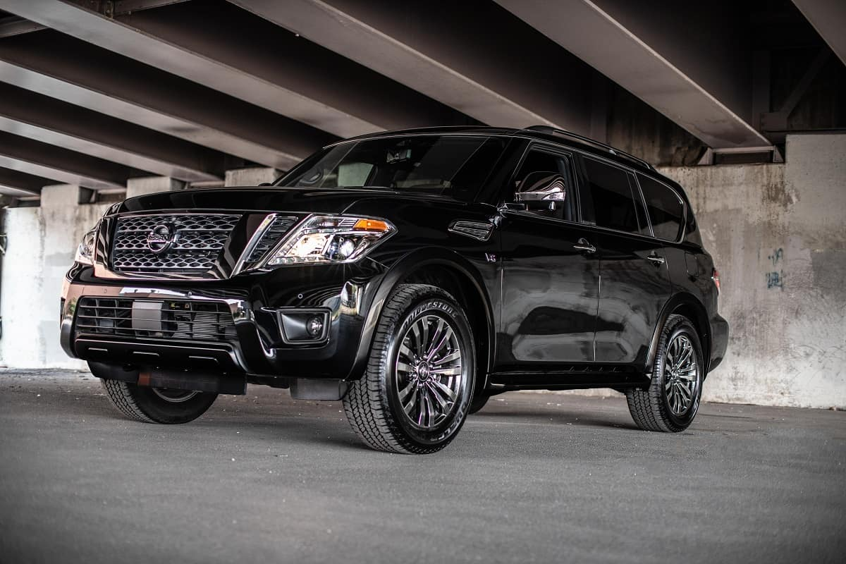 2019 Nissan Armada Same Rugged Suv With New Standard Safety Tech