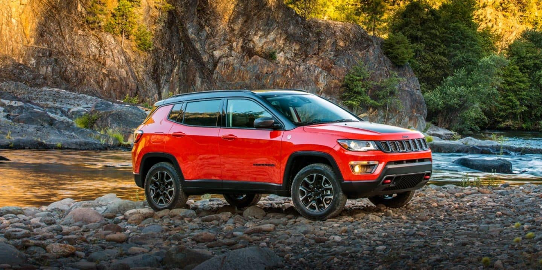 Nissan Rogue Vs Jeep Compass Compact Crossover Comparison