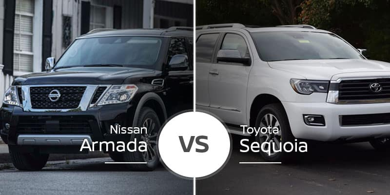 Nissan Armada Vs  Toyota Sequoia: Burly SUVs Do Battle