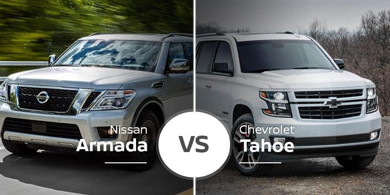 Nissan Armada Vs Chevy Tahoe