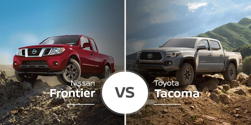 Nissan Frontier Vs. Toyota Tacoma on