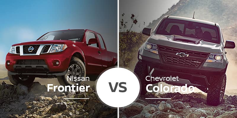 Nissan Frontier Vs  Chevy Colorado