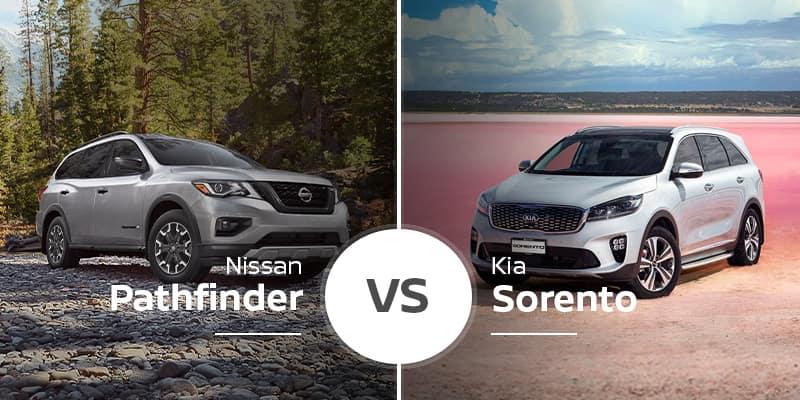 Nissan Pathfinder Vs  Kia Sorrento