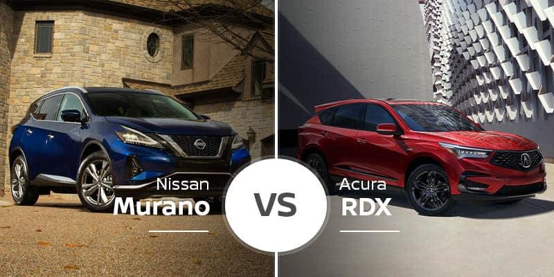Nissan Murano Vs Acura Rdx