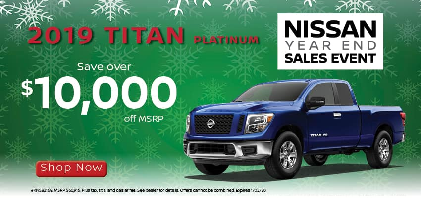 Save over 10000 on 2019 Titans