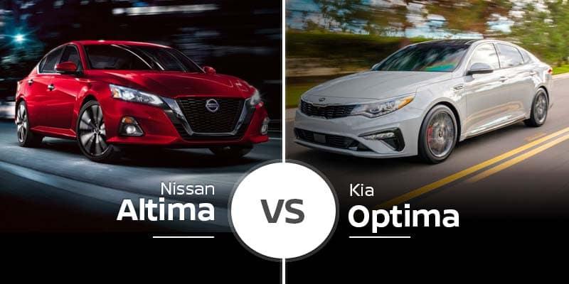 2020 Nissan Altima Vs 2020 Kia Optima