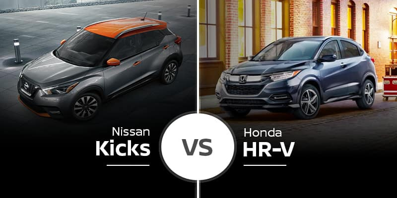 2020 Nissan Kicks Vs 2020 Honda Hr V