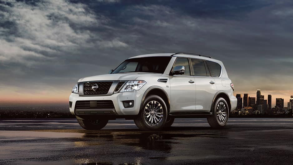 Exterior Features of the New Nissan Armada at Garber in Bradenton, FL