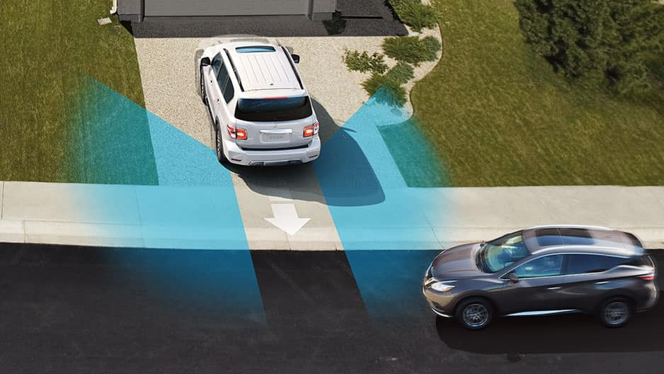 Safety Features of the New Nissan Armada at Garber in Sarasota, FL