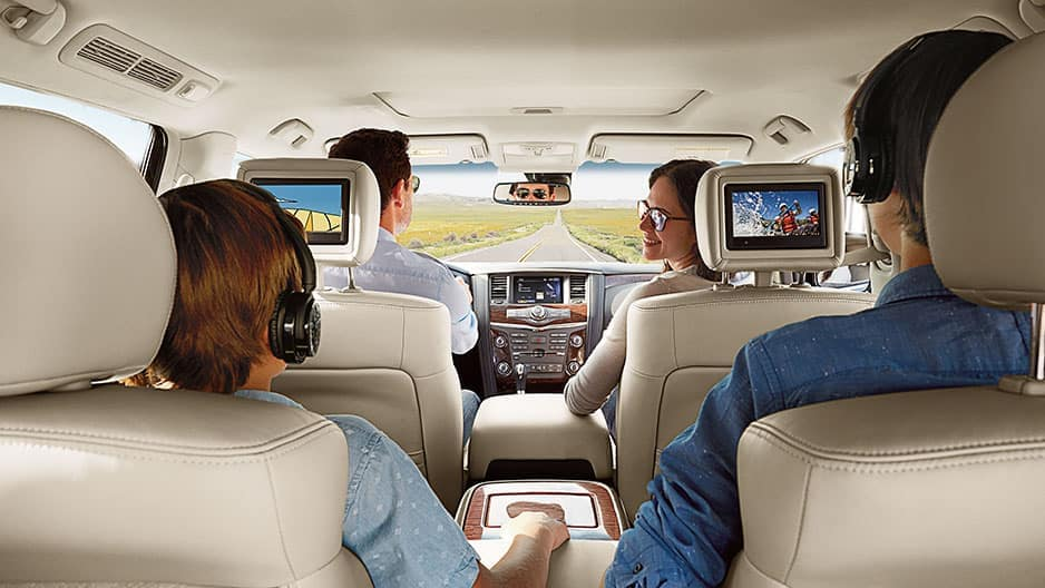Technology Features of the New Nissan Armada at Garber in Sarasota, FL