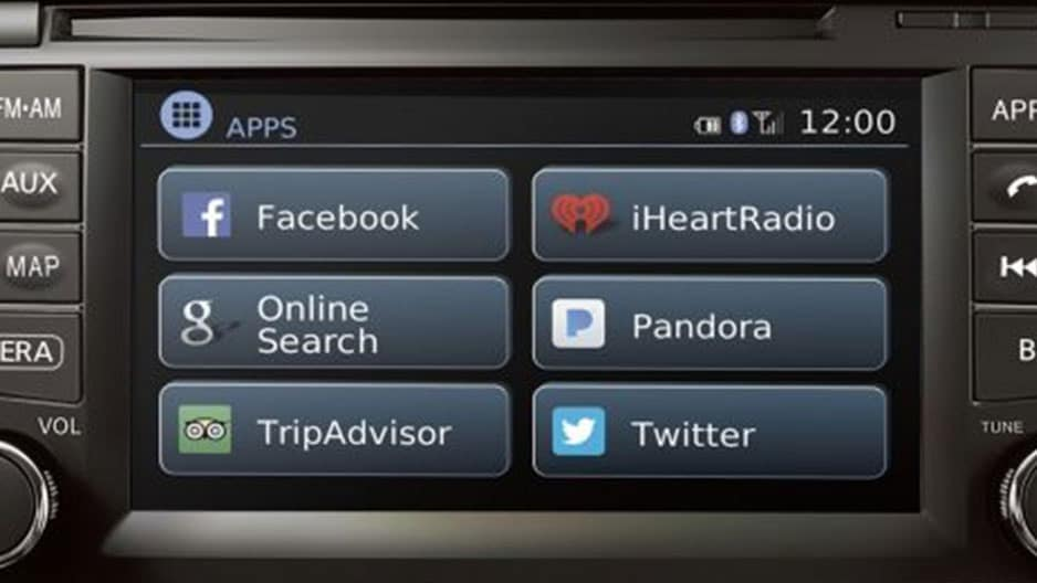 Technology Features of the New Nissan Frontier at Garber in Sarasota, FL