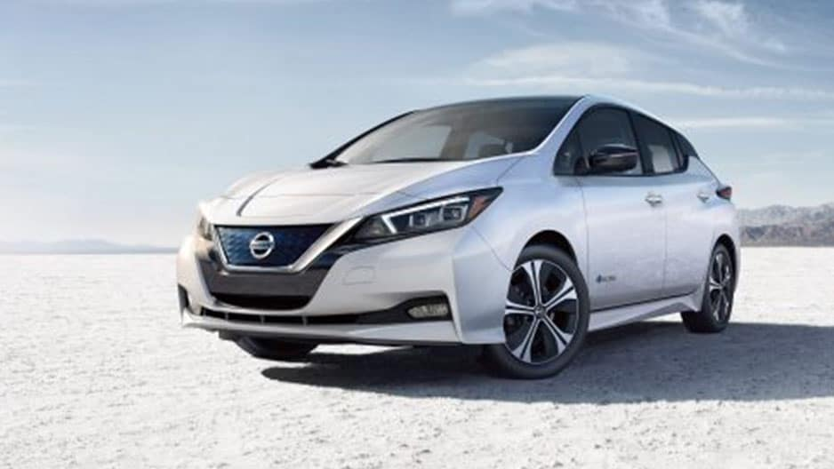 Exterior Features of the New Nissan Leaf at Garber in Bradenton, FL