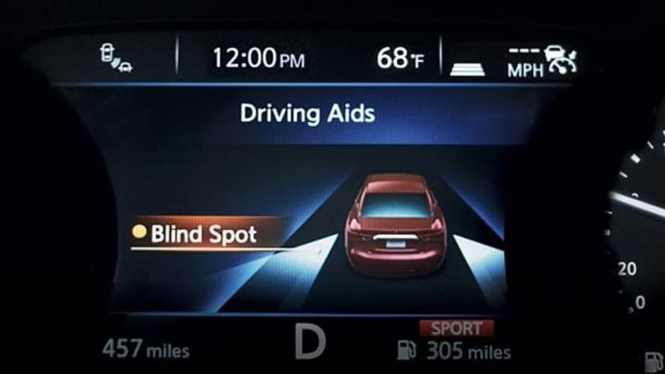 Safety Features of the New Nissan Maxima at Garber in Sarasota, FL
