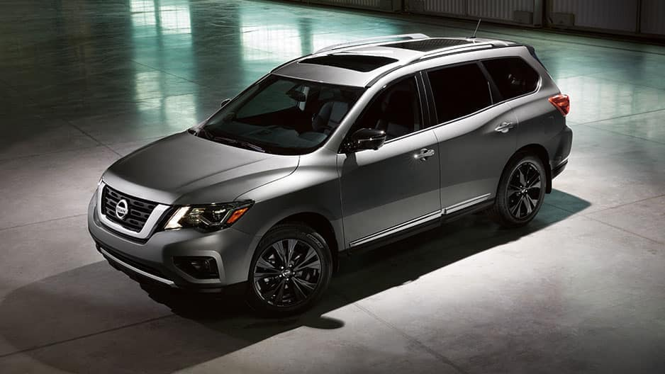 Exterior Features of the New Nissan Pathfinder at Garber in Bradenton, FL