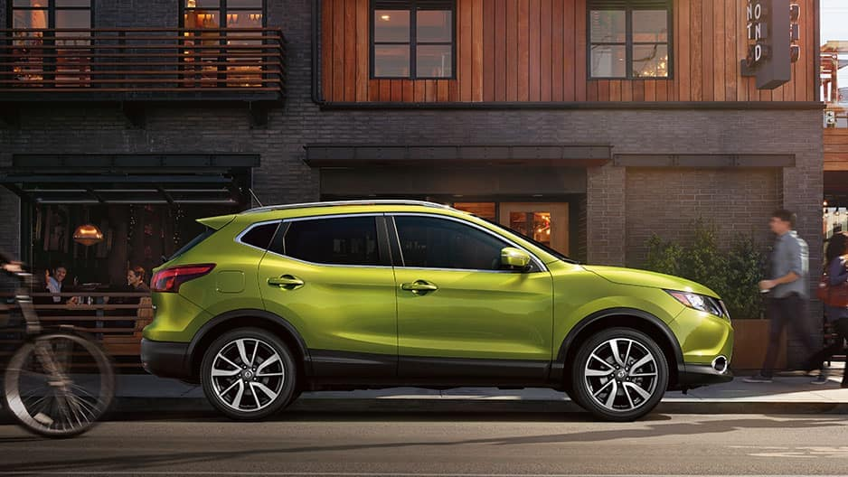 Exterior Features of the New Nissan Rogue-Sport at Garber in Bradenton, FL