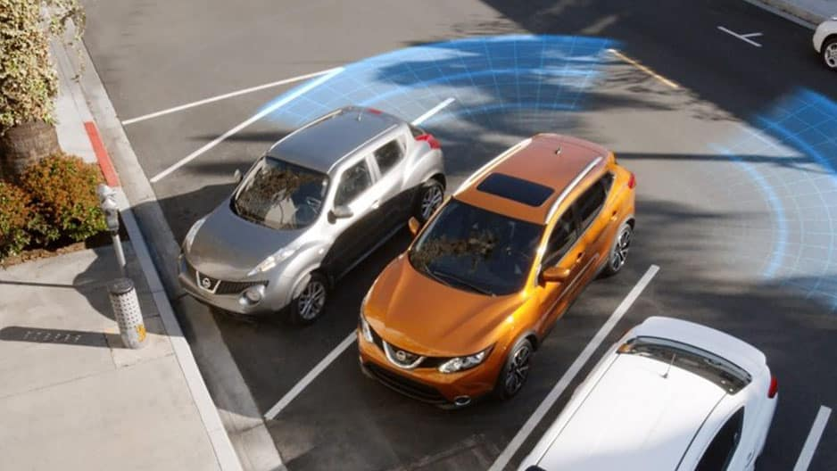 Safety Features of the New Nissan Rogue-Sport at Garber in Sarasota, FL