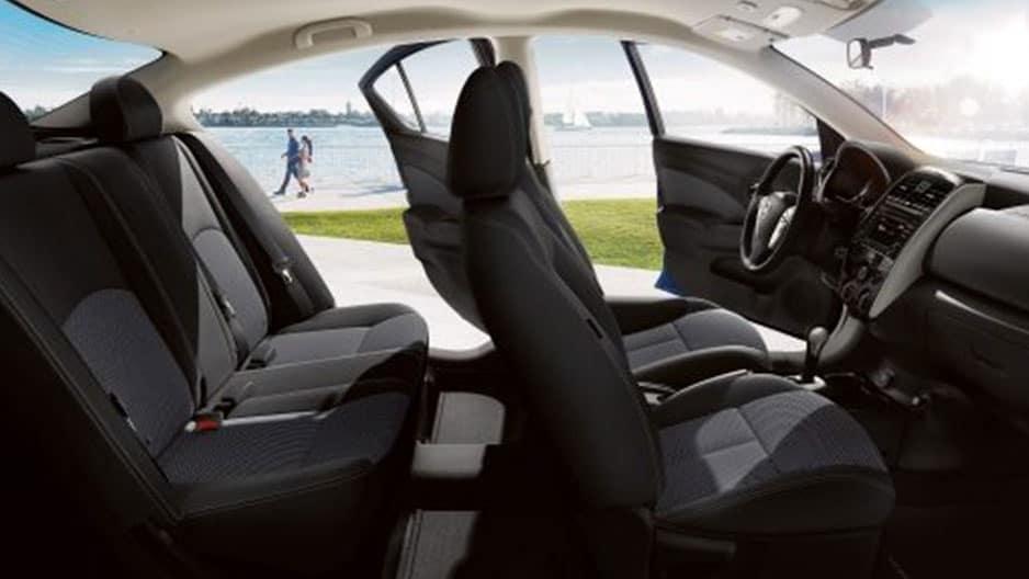 Interior Features of the New Nissan Versa Sedan at Garber in Bradenton, FL