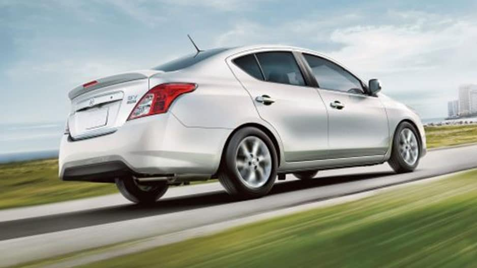 Performance Features of the New Nissan Versa Sedan at Garber in Sarasota, FL