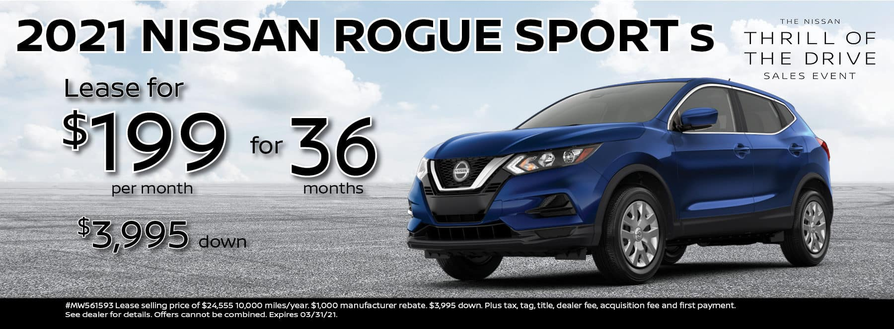 2021 Rogue Sport 199