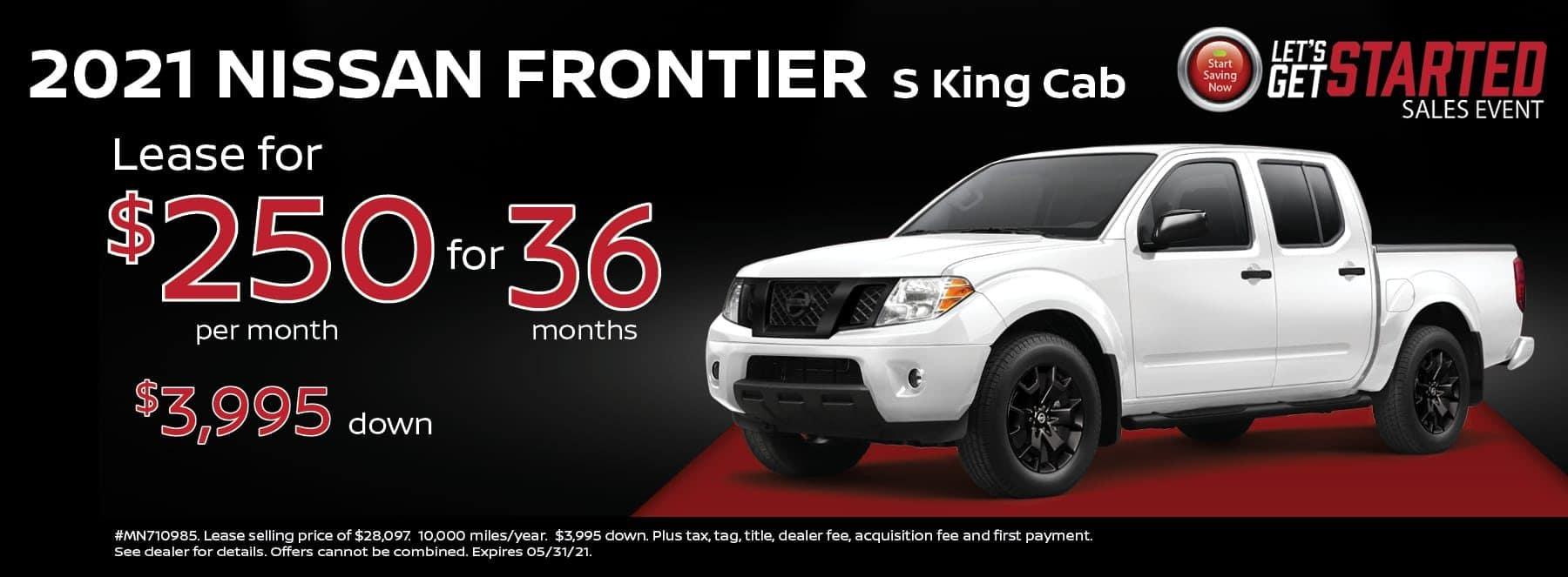 21 Frontier 250 mo