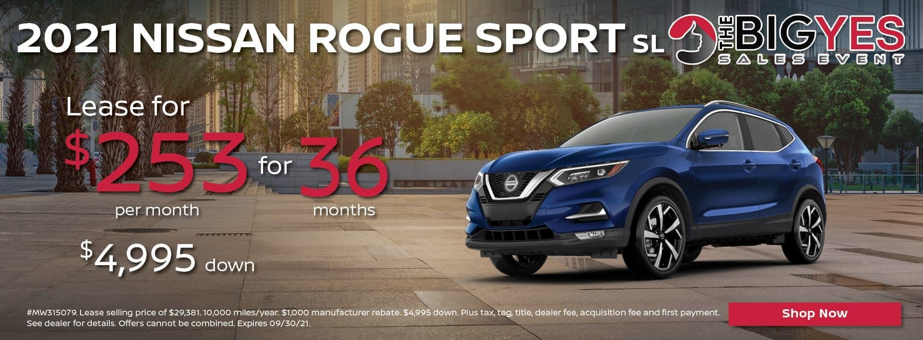 21 Rogue Sport 253