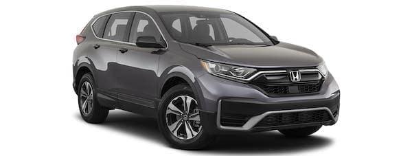 A gray 2020 Honda CR-V is angled right.