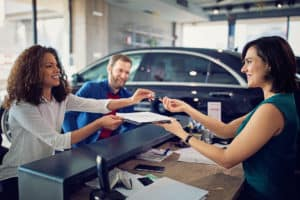 signing car lease