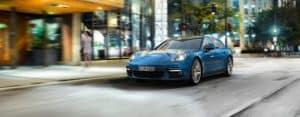 2019 Porsche Panamera Exterior Driving Down Street