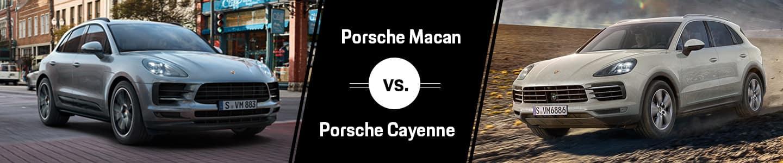 Porsche Macan vs Porsche Cayenne